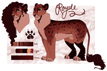 Royale Reference Sheet | Gift by that-tickles