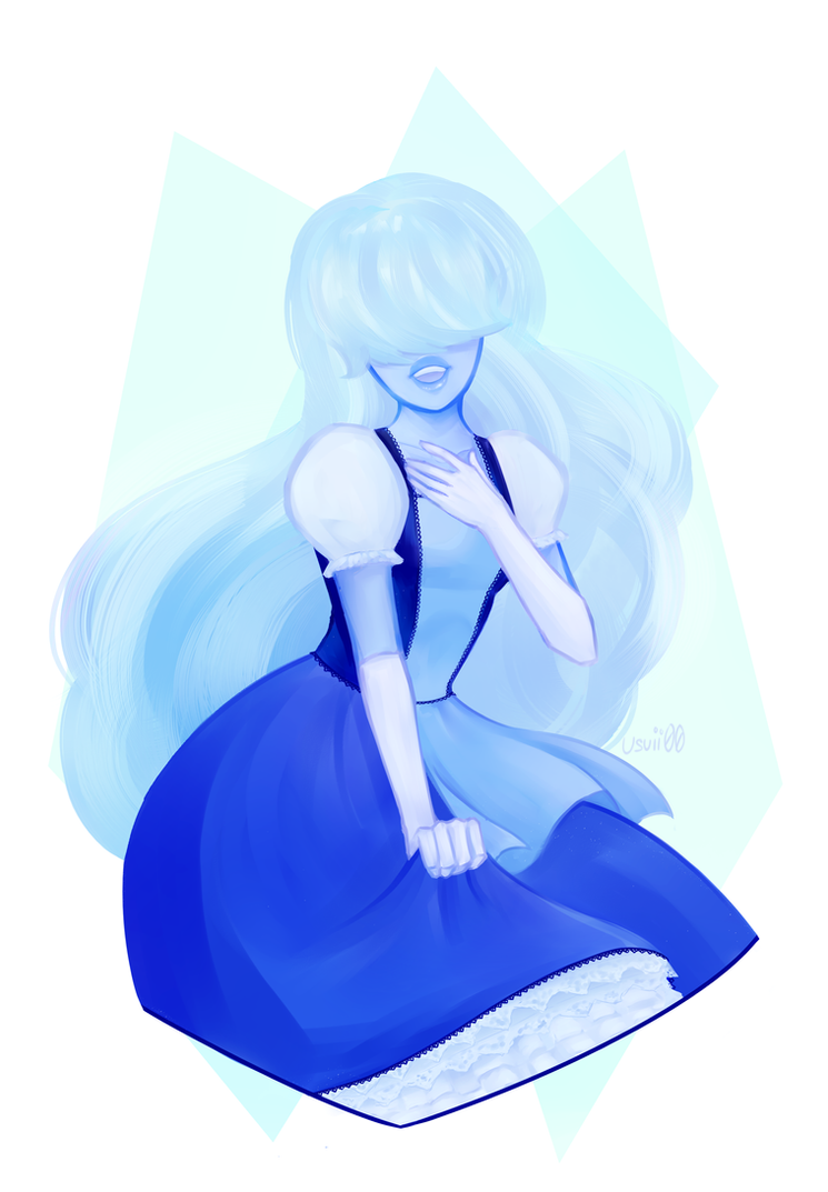 You ever just lose track of time but for like a year Anyway, I haven't drawn in a while, so I used sapphire for a warm up. Hopefully I'll be more consistent ! ヽ(' ∇' )...
