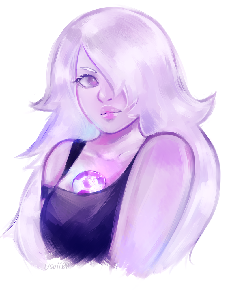 ✧ link to speedpaint quick amethyst ✨💜  trying to draw both better and faster.. Tumblr | Instagram | Twitter