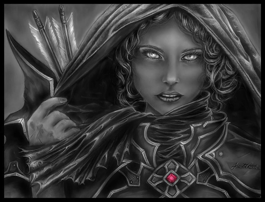 Hunter, Diablo3 by AngeJedudsor