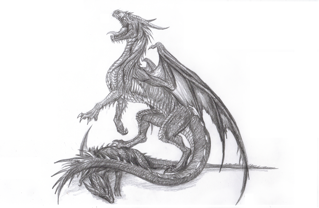 Zombie Dragon WIP by The-Mark-of-UnRa on DeviantArt
