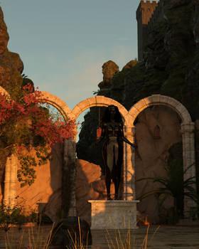 Ashtherae the Harevest Queen - Morning Light