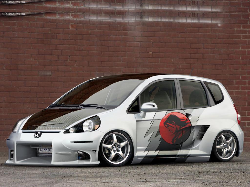Honda fit car sticker design - Honda Fit By Fenixclz013
