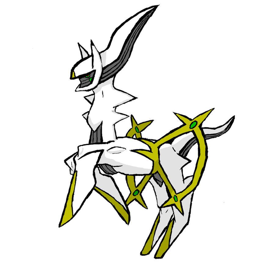 Pokemon Arceus by Shadow9708 on DeviantArt