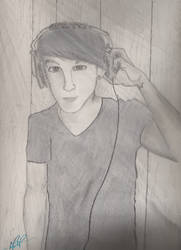 Mitchel Musso by Huasal