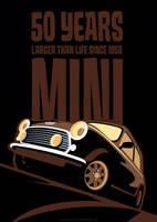 Mini 50th Anniversary Poster by LasseBauer