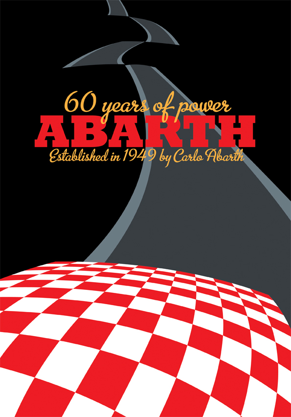 Abarth 60th Poster Alternative by LasseBauer
