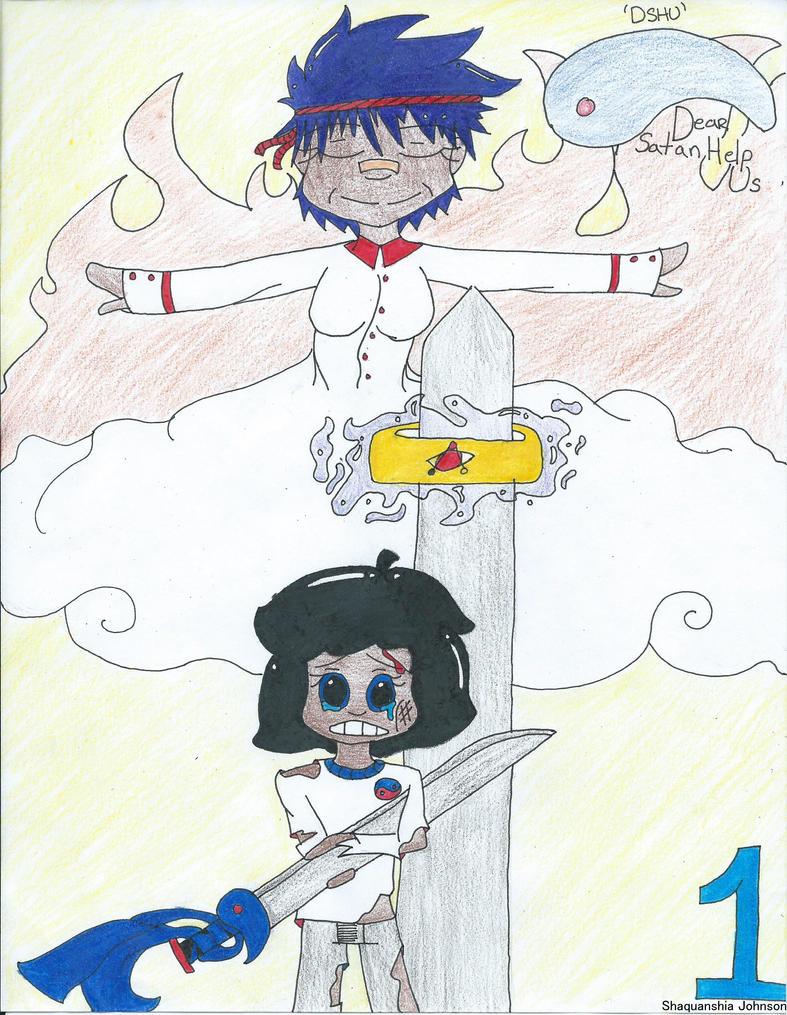 Dear Satan Help Us - Comic Cover CH 01 by Kenny1315