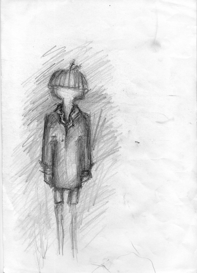 Alone Sketch By MrsSghfagh On DeviantArt