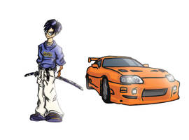 Character and Car