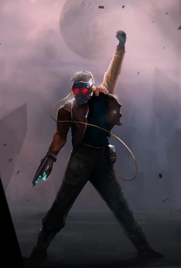 the... Starlord. by Sharobury on DeviantArt