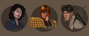 Ripley, Dredd and Ray