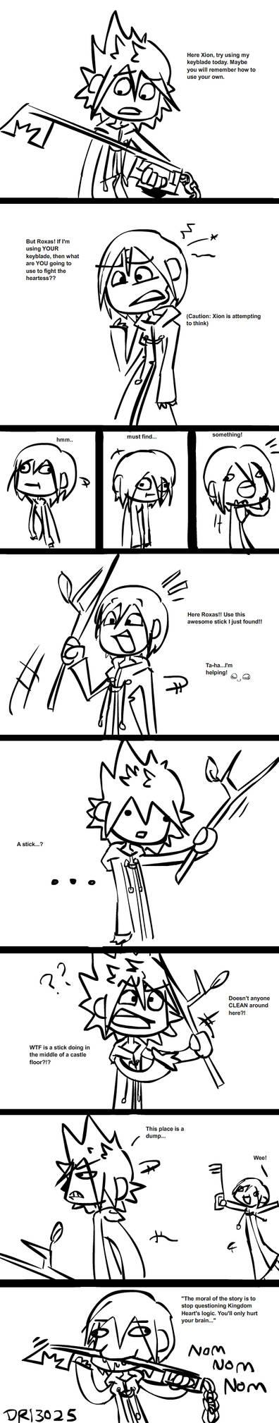 Kingdom Hearts Logic is COOL