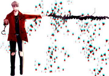 Bang Bang [AGUST D FANART] (+SPEEDPAINT) by MissBrutus