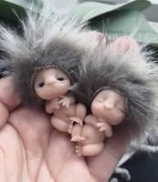 Little fuzzy elfs by annieelf
