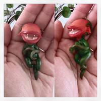 Little Carnivore-Plant Elfling by annieelf