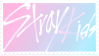 Stray Kids Stamp - Pastel Version by Pogromzolaa