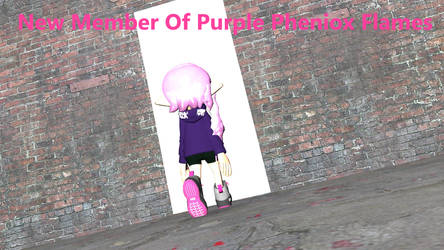New Memeber Of The Purple Phenox Flames by jakeflames