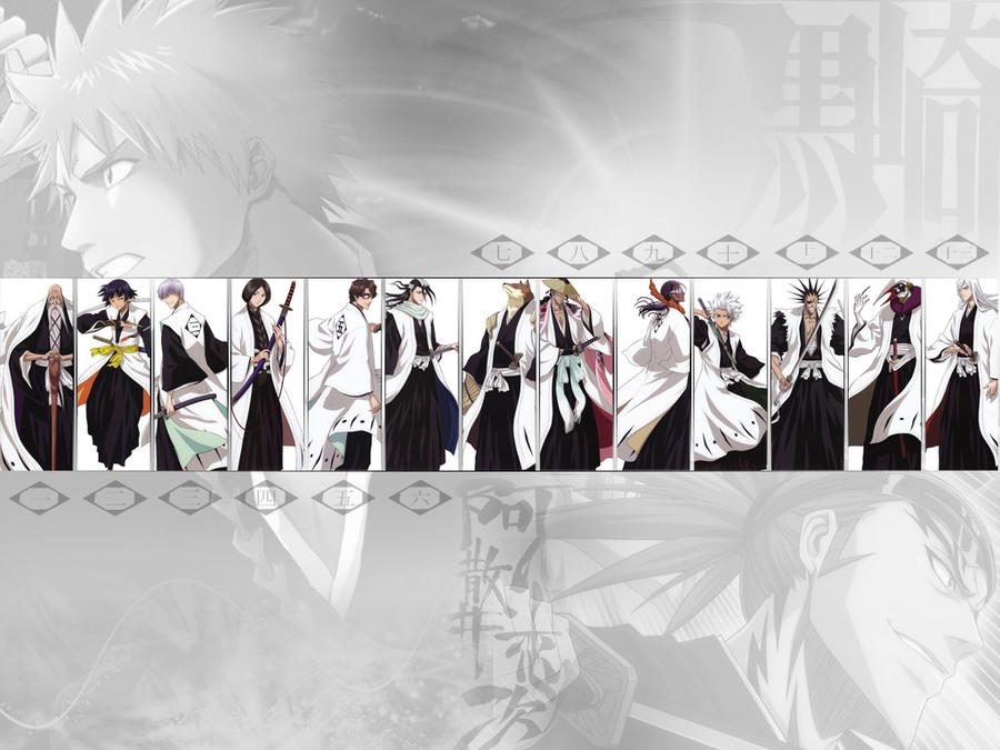 Bleach Captains Wallpapers   www.imgkid.com - The Image ...