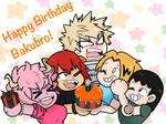 .:Happy Birthday Bakugou:.