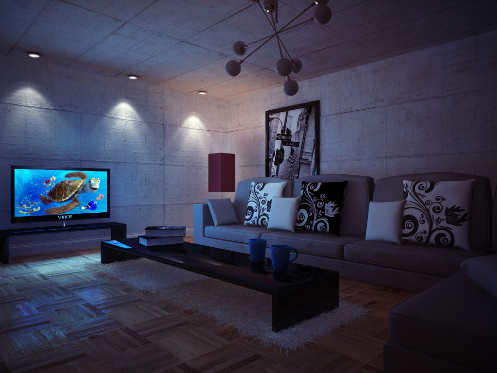 Envy vray interiors night by vince ma on deviantart for Vray interior
