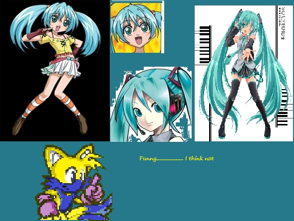 Runo And Hatsune Miku Same By Tails The Fox86