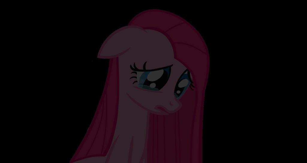Sad Pinkie Pie by JulietRarity