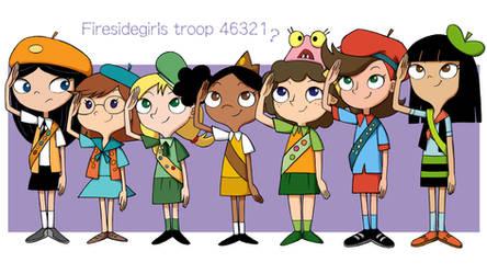 Fireside girls troop 46321...?
