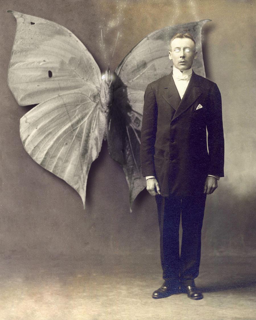 Ninian Gates and His Moth by shawnwhisper