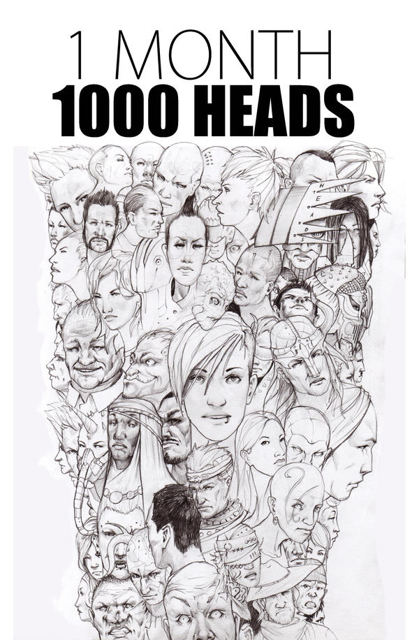 one thousand heads by CrackBag