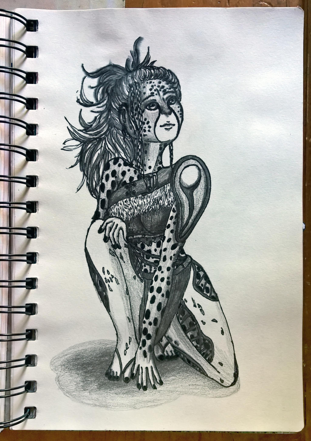 Cheetah Warrior by AnhuiPrincess on DeviantArt