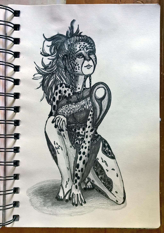 Cheetah Warrior by AnhuiPrincess on DeviantArt