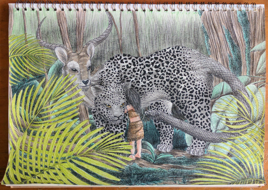 Jungle Chimera (Contest Entry) by AnhuiPrincess