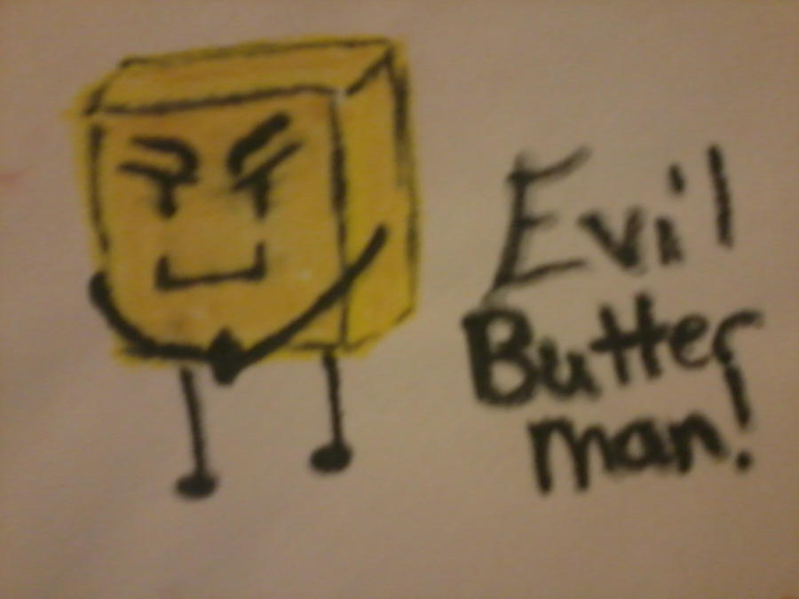 Th Evil Butter Man by Valix-Lashten87