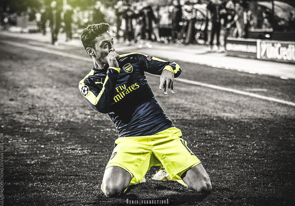 Mesut Ozil By UzairProductions On DeviantArt