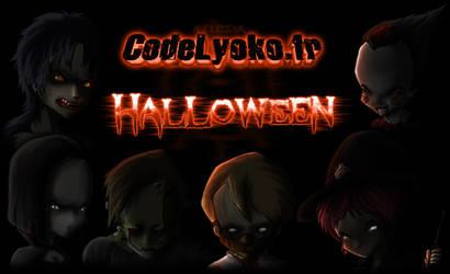 Code Lyoko Halloween by Nelbsia