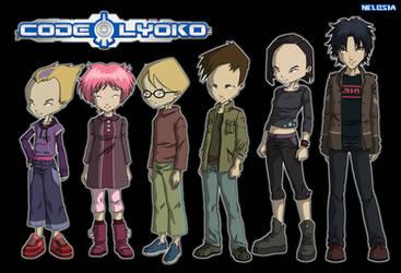 Code Lyoko s4 by Nelbsia