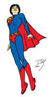 Superwoman UoRG 2 colored