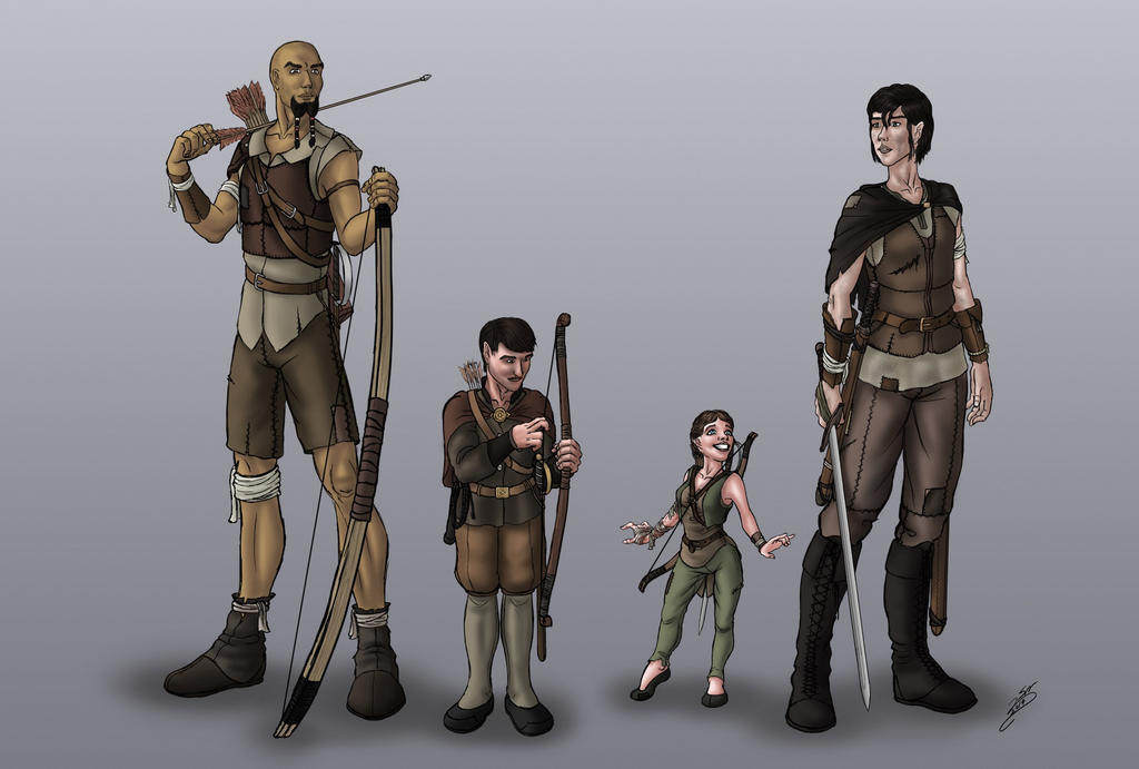 Age of Strife - cast