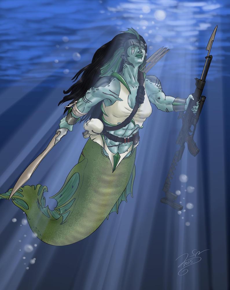 Modern Mermaid by SteveNoble197