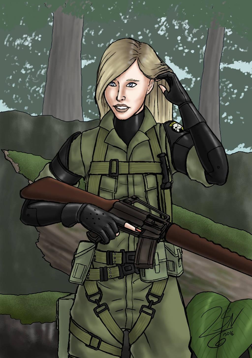 Metal Gear Kaitlyn by SteveNoble197