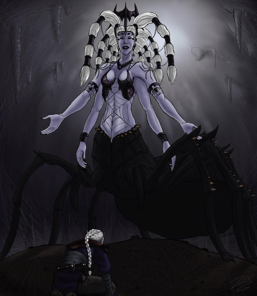 Lolth, Queen of the Demonweb Pits by SteveNoble197
