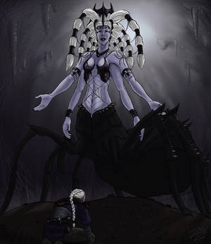 Lolth, Queen of the Demonweb Pits
