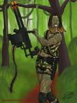Warpainted gunner