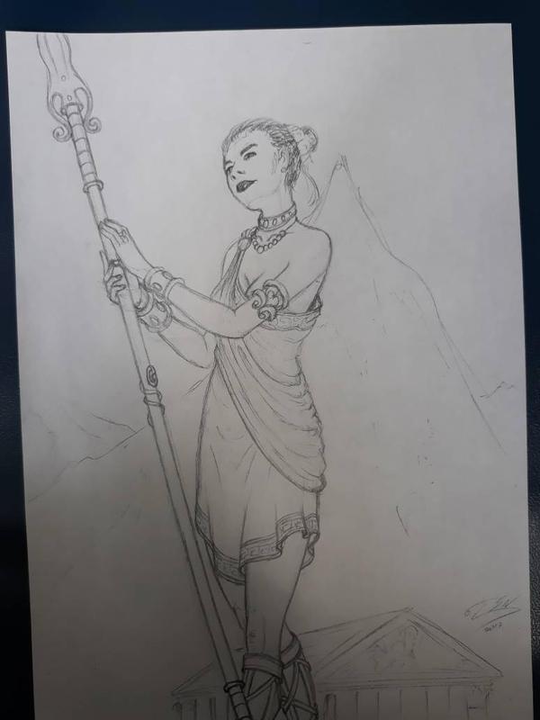 School scribbles - Queen