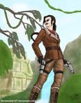 Lara Croft (v3+glasses)