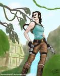 Lara Croft (v2+glasses)