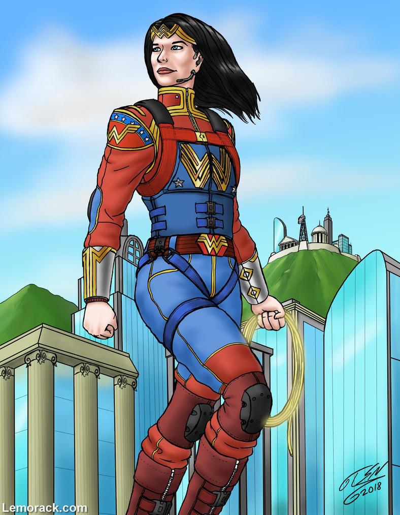 Wonder Woman by SteveNoble197