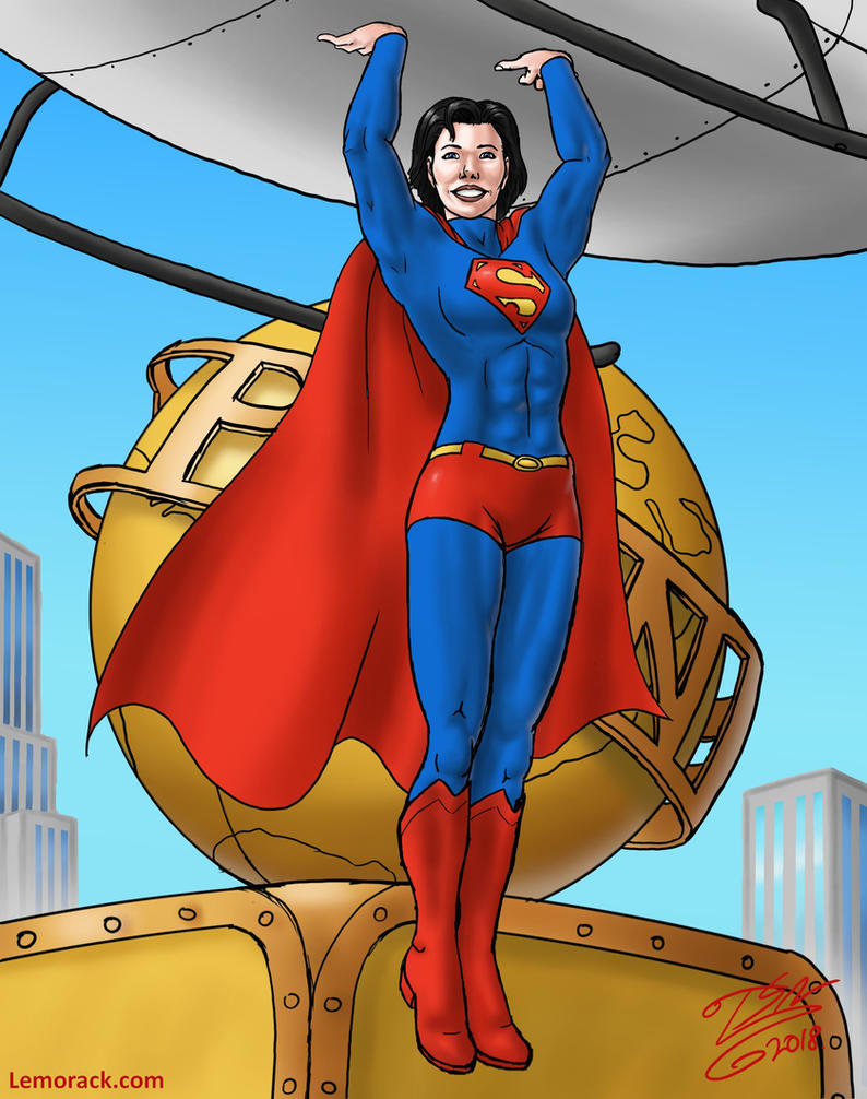 Superwoman by SteveNoble197