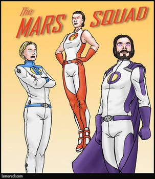 The Mars Squad by SteveNoble197